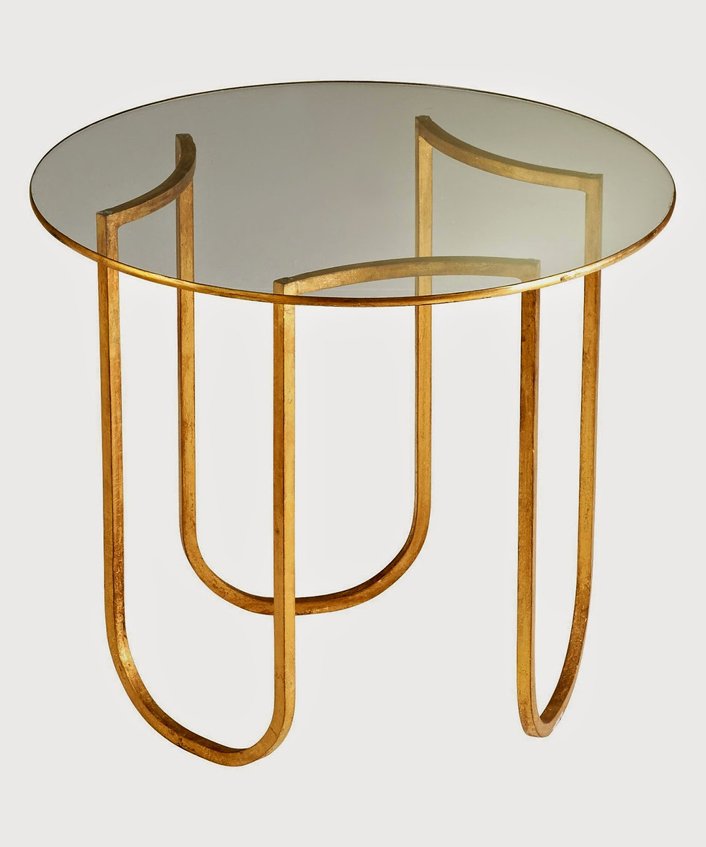 circular gold and glass table end table accent table in hayward castro valley milpitas fremont