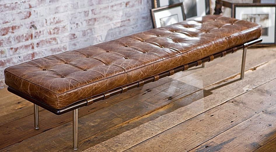 where can i find a rustic leather bench at sofa outlet in san mateo hayward