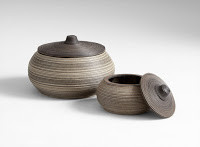 Pottery at Sofa Outlet - great accent pieces.