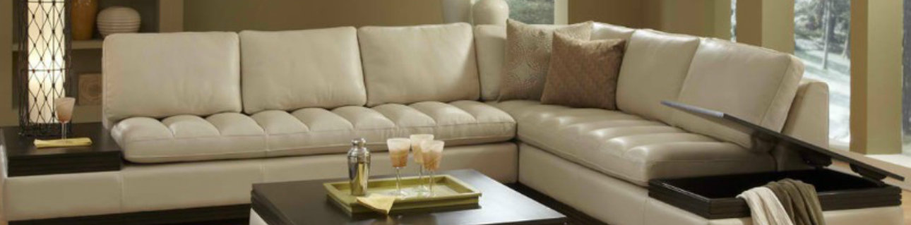 Italian leather sectionals at Sofa Outlet in San Mateo near Belmont, San Carlos, Menlo Park