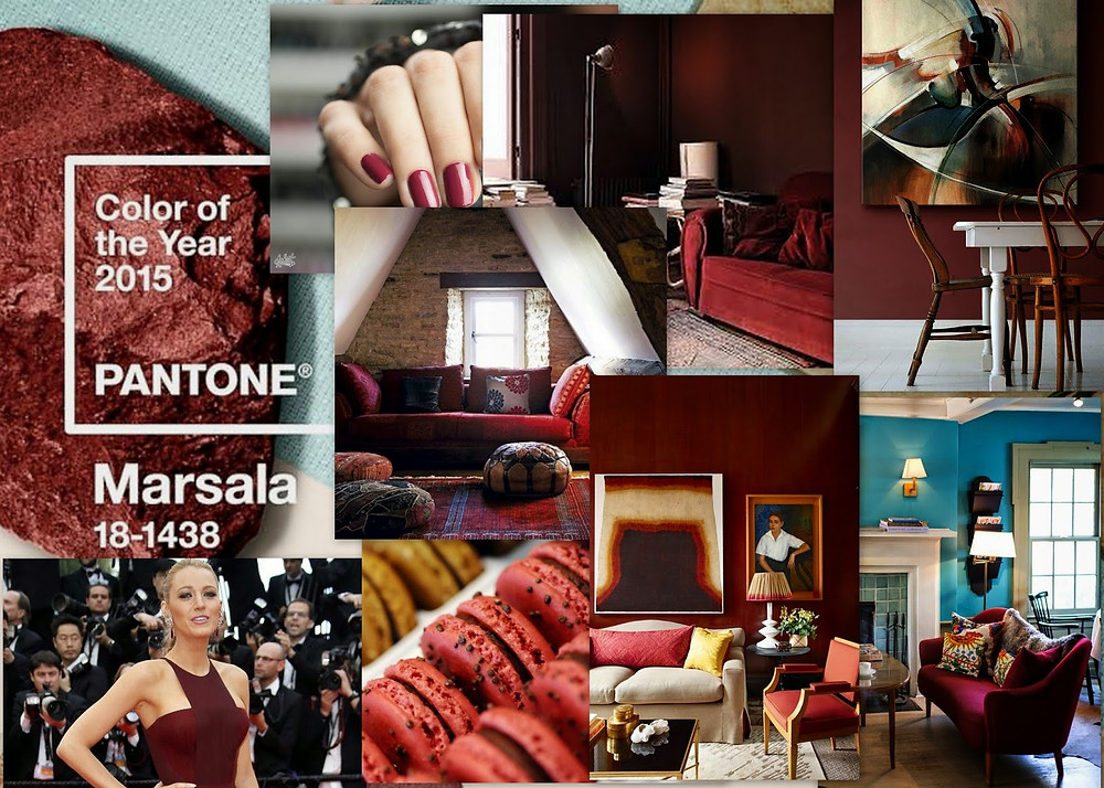 Wine Country- Introducing 2015 Pantone Color of the Year, Marsala sofa outlet san mateo