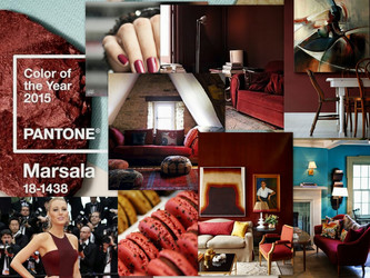 Wine Country- Introducing 2015 Pantone Color of the Year, Marsala