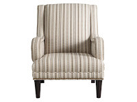 Where can I find chairs with striped fabric? Can I bring my own fabric? Yes at Sofa Outlet we are all about Custom Comfort.