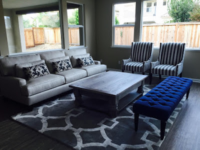 Area rugs, accent pillows, benches, coffee tables and chairs at Sofa Outlet on the Peninsula.