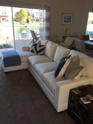 Sofa's and accent pillows at Sofa Outlet near Belmont