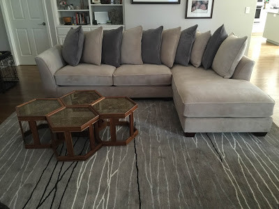 Sofa's and coffee tables at Sofa Outlet near Redwood City. Made in the USA. Copycat