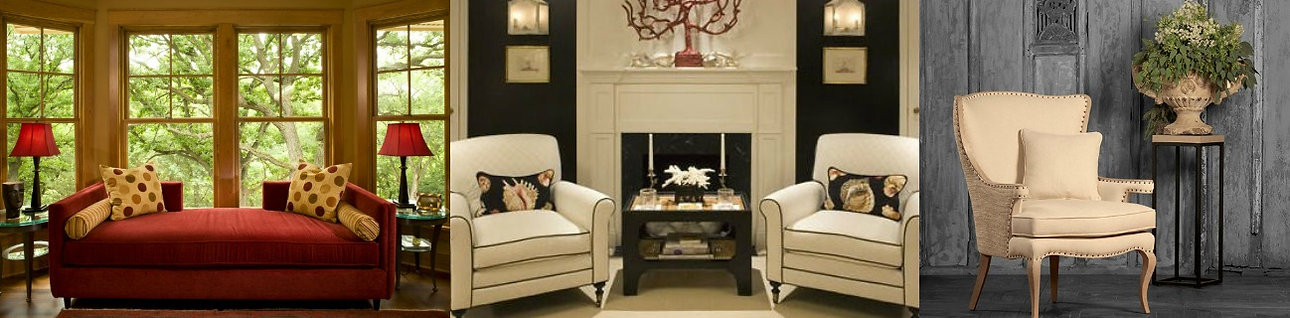 Accent chairs and chaises for living room, dining room, bedrooms and guest rooms at Sofa Outlet