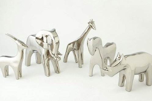 Bright Silver Figures