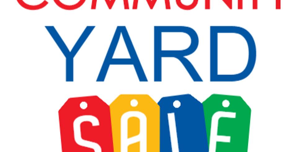 Community Yard Sale - $3.00 per Space