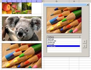 Excel VBA ドラッグアンドドロップで画像をListViewの一覧に登録、切り抜き・サイズ調整後にセルへ嵌めこむマクロ