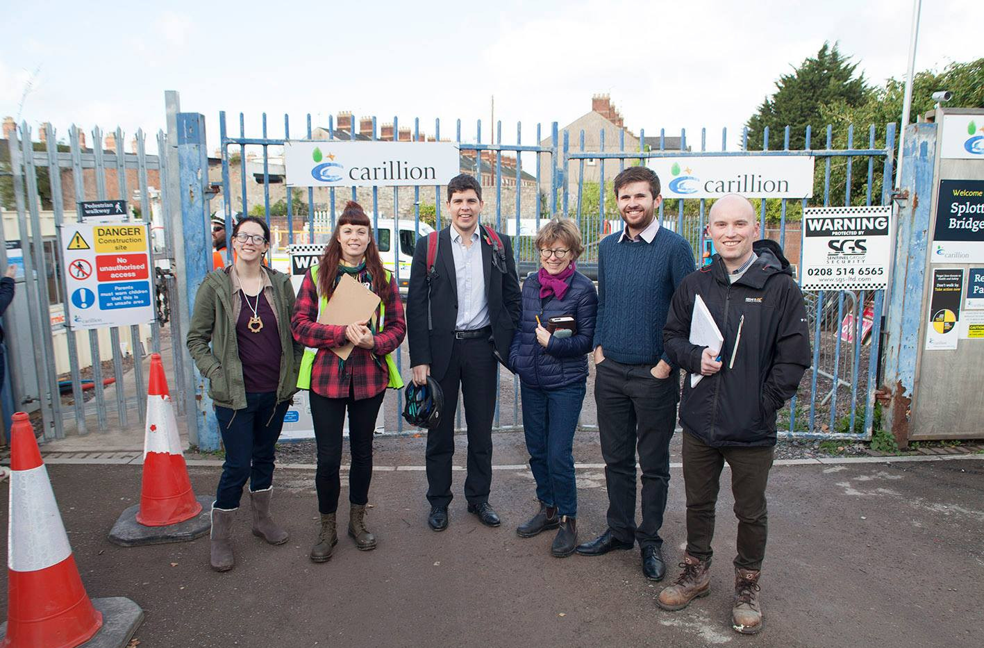 Supported by our local councillors and the Community Land Advisory Service we continued our effots to secure the land for community use.