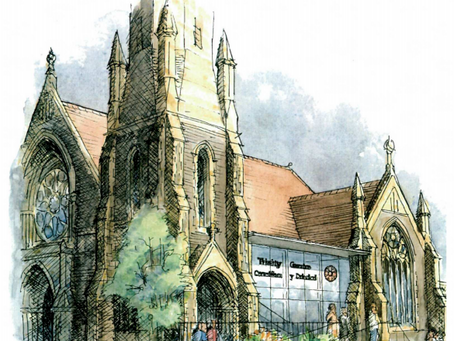 Guest blog: Have you heard about the Trinity Centre's Sanctuary Project yet?