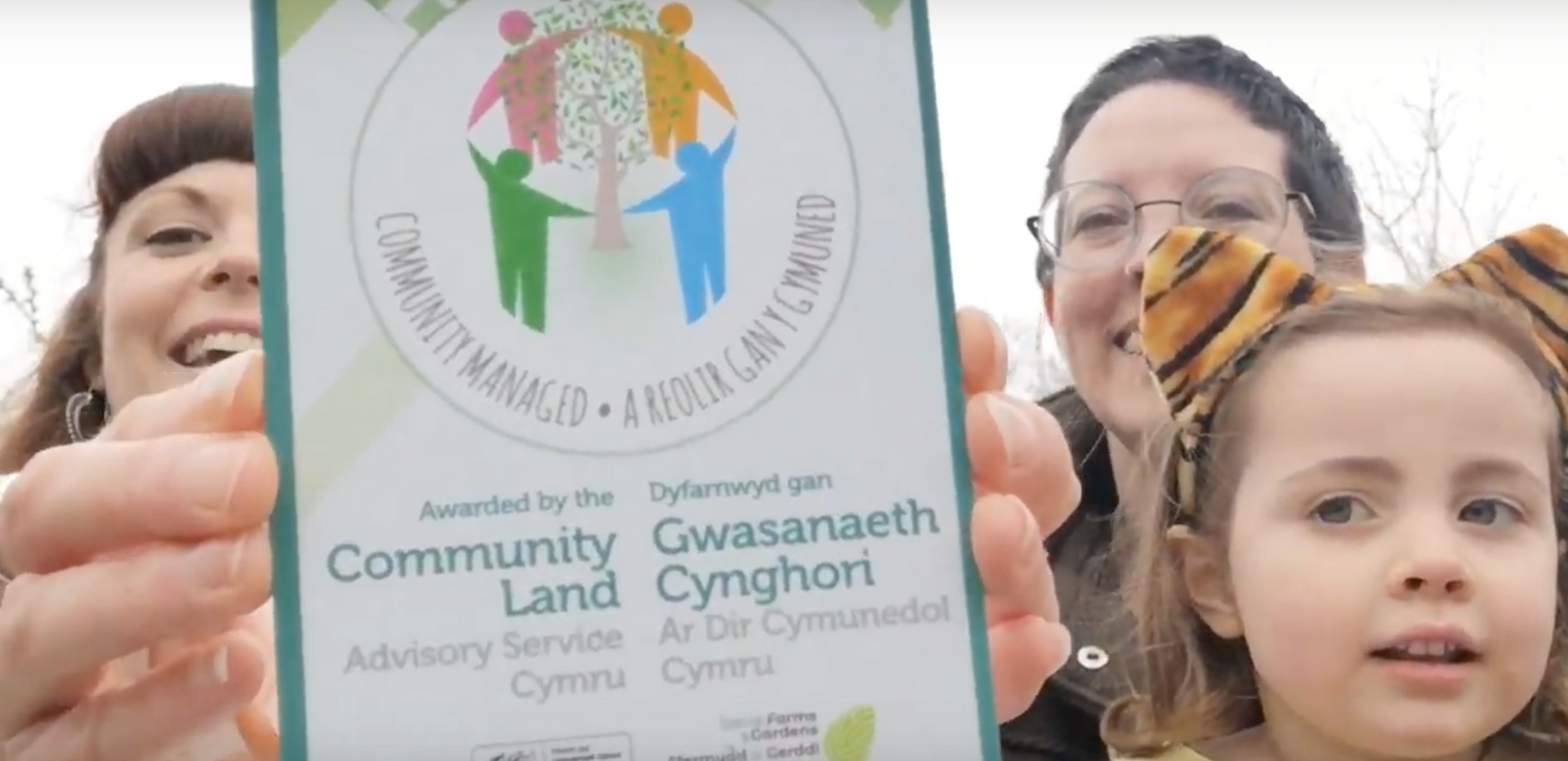 In February 2019 we were thrilled to recieve a community land management award from CLAS in recognition of the work and time taken to secure the site for the community.   We got a plaque and everything!