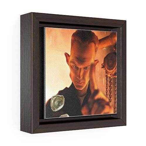 Bulman Pop-scene - Terminator 2 - Square Framed Premium Gallery Wrap Canvas