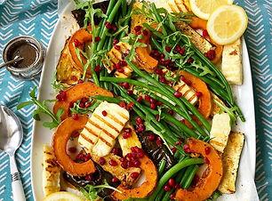 butternut squash pomegranate salad.JPG