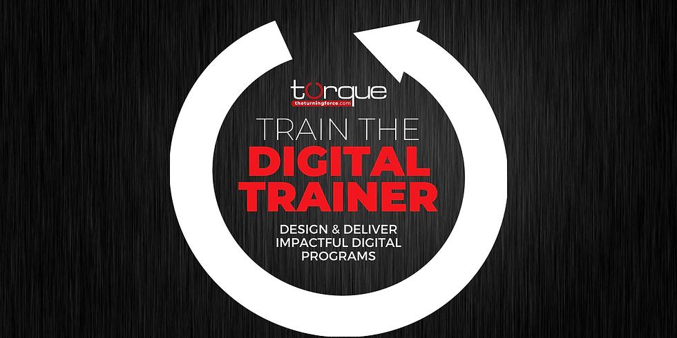 Train The Digital Trainer - TTDT Cohort 3