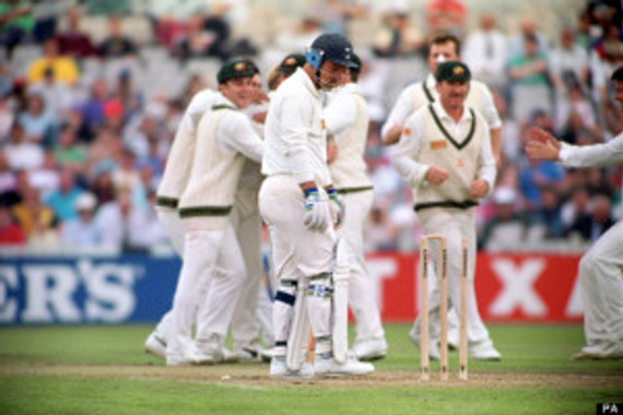 Cricket - The Ashes - England v Australia - 1st Test - Day Two - Old Trafford