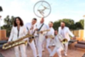 dj groupe orchestre musiciens wedding cocktail côte d'azur Marseille