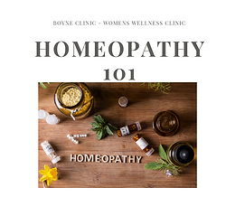 Homeopathy 101 - The who, what and why!