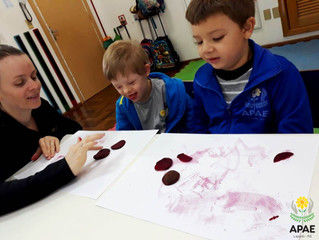 Pintura com Beterraba