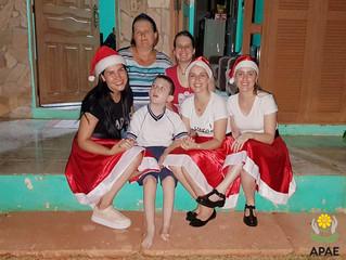 Visita Mamães (Profes) Noelas