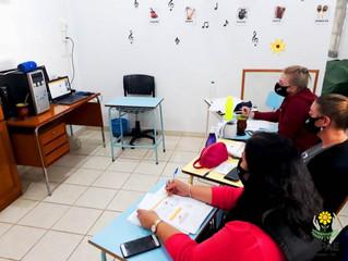 Capacitação para equipe docente