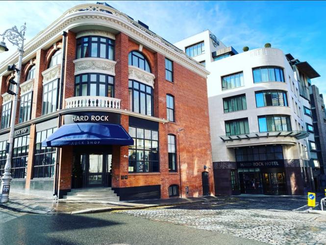 Hard Rock Dublin - Entry