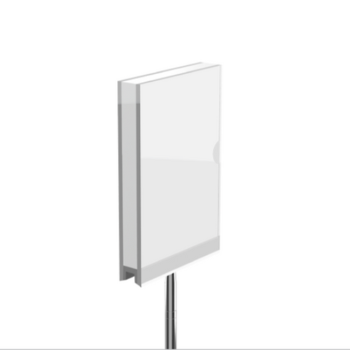 Index Double Sign Holder