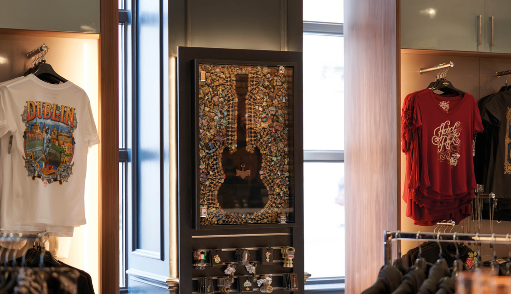 Hard Rock Dublin - Pin Display