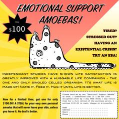 Emotional Support Amoebas: Ad