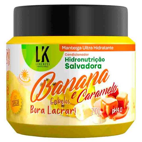 Lokenzzi Manteiga Banana E Caramelo 240g