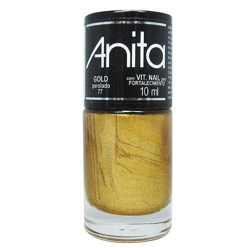Esmalte Anita Perolado Gold