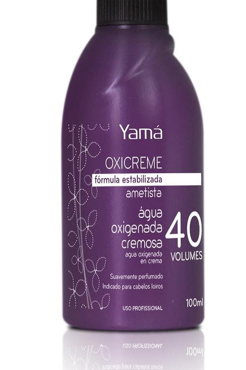 Yamá Água Oxigenada Cremosa Oxicreme 40 vol. 100ml Ametista