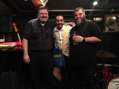 Joel Frahm & Charles Owens  Smalls Jazz Club NY 2017
