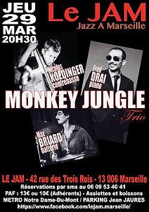 Monkey Jungle Trio