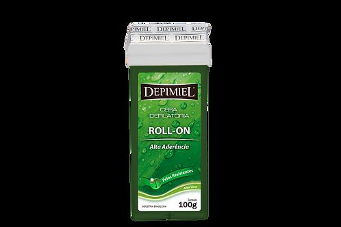 Cera Roll-On Algas 100g Depimiel