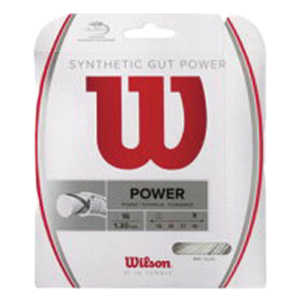 【WILSON】SYNTHETIC GUT POWER