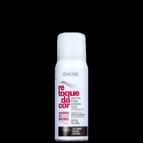 Amend Spray Retoque da Cor Castanho Escuro - Corretivo de Raiz 75ml