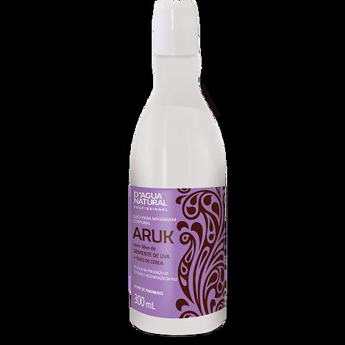 Óleo para Massagem Aruk Semente de Uva e Cereja 300ml