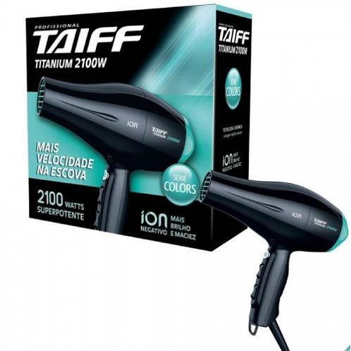 Taiff Secador Titanium Colors Azul 2100W