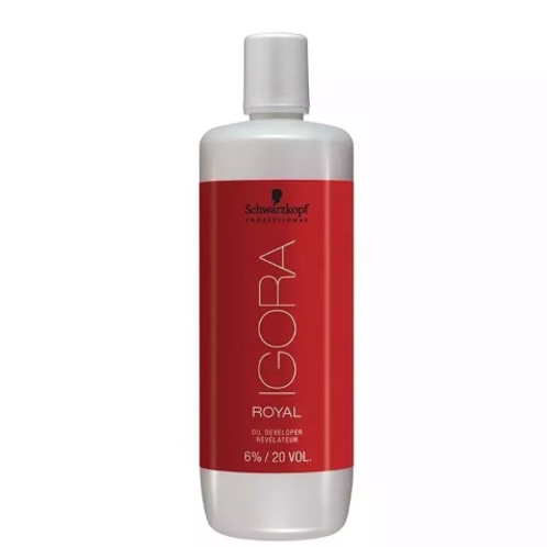 Schwarzkopf Igora Royal Água Oxigenada 6% 20 Vol. 1L