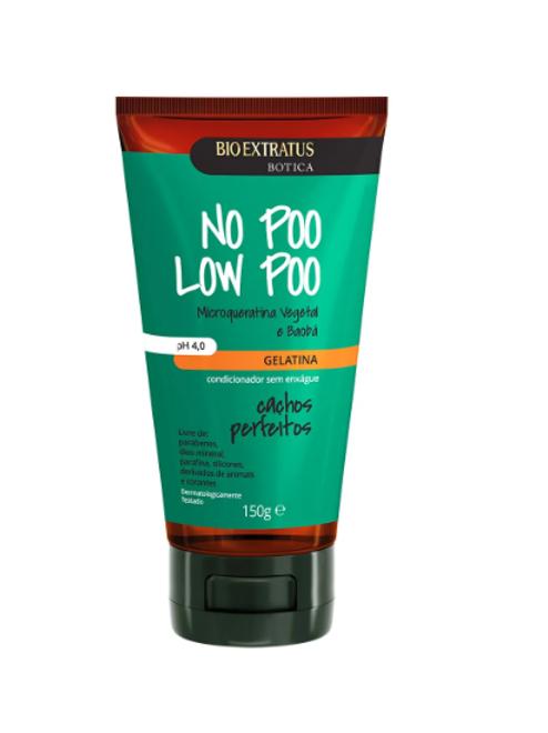 Bio Extratus Gelatina Botica No Poo Low Poo 150g