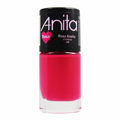 Esmalte Anita Cremoso Rosa Amelia