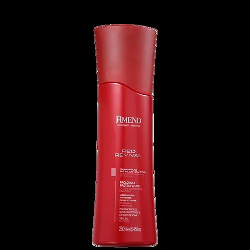 Amend Red Revival Realce da Cor - Shampoo 250ml