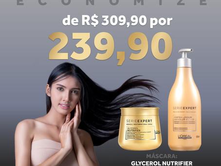 Economize na compra do Shampoo + Máscara L'Oréal