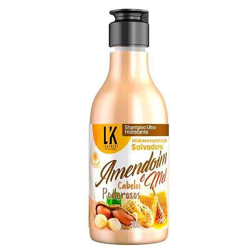 Lokenzzi Shampoo Amendoim E Mel 200ml
