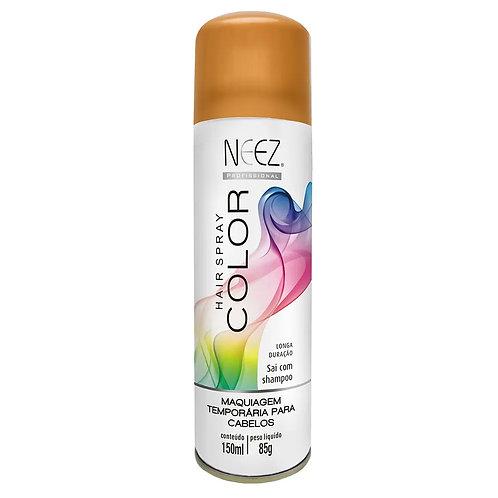 Spray Neez Color (Glitter) Ouro 150ml