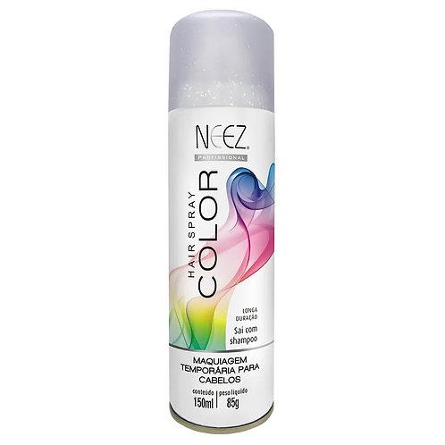 Spray Neez Color (Glitter) Prata 120ml
