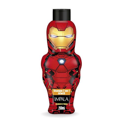 Shampoo 2 em 1 Avengers Homem de Ferro 250ml