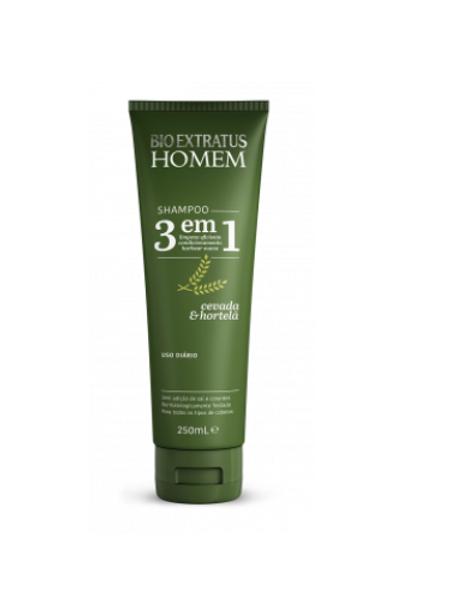 Bio Extratus Homem Shampoo 3 Em 1 250ml